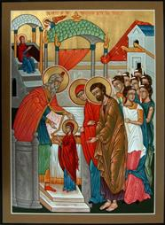 Entrance of the Mother of God into the Temple