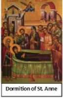 Dormition of St. Anne - July 25