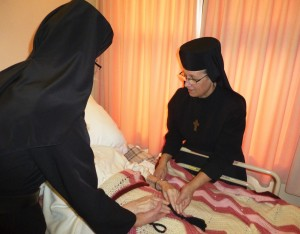 Sisters at St. Joseph's Home with Residents(3)