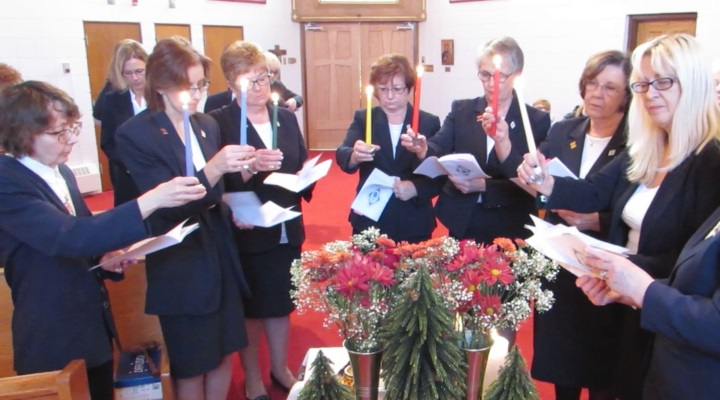- Lighting of the Candles at the Installation Ceremony of Eparchial Executive -