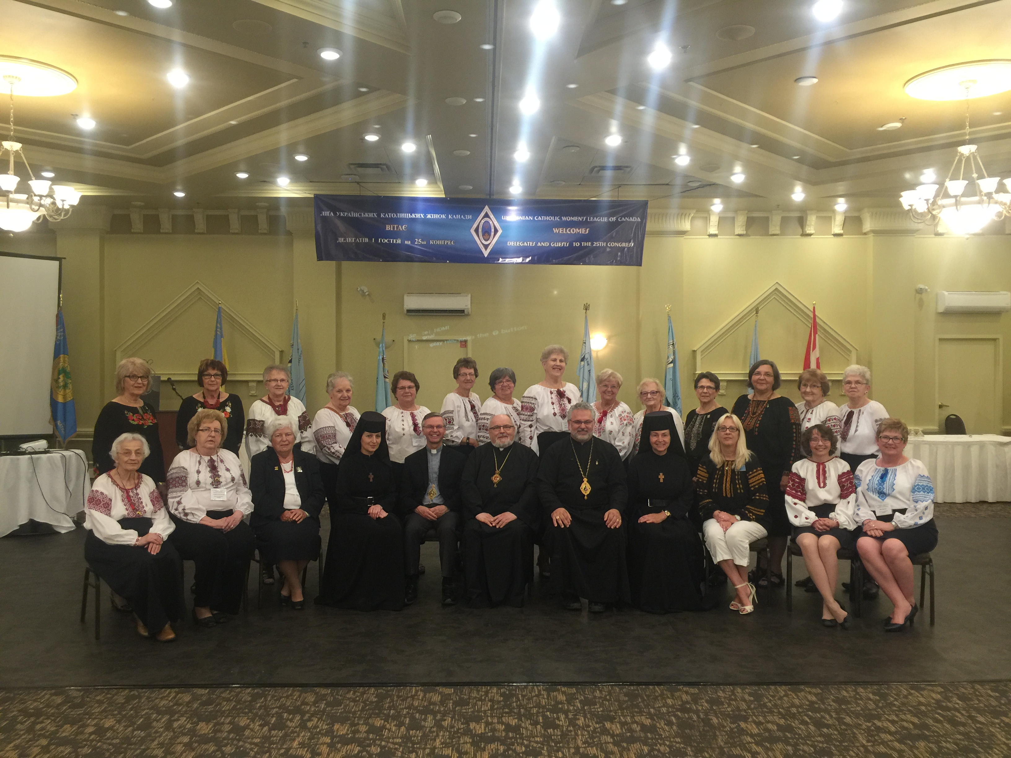 UCWLC Delegates from Eparchy of Saskatoon