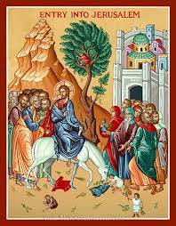 008-Palm Sunday Icon
