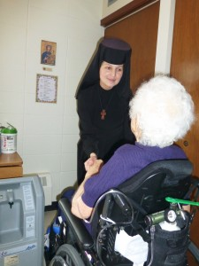 Sisters at St. Joseph's Home with Residents(1)