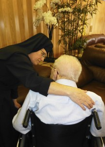Sisters at St. Joseph's Home with Residents(2)